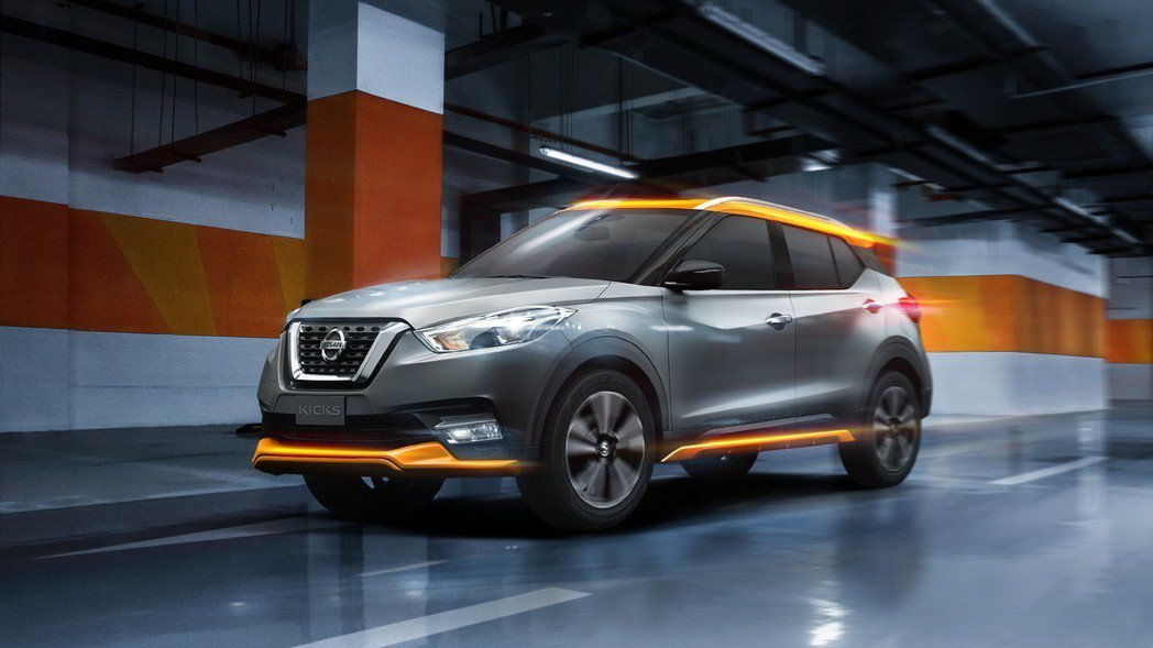 NISSAN KICKS在3月份推出「不受橘限版」特仕車,帶動整體品牌表現。 圖...