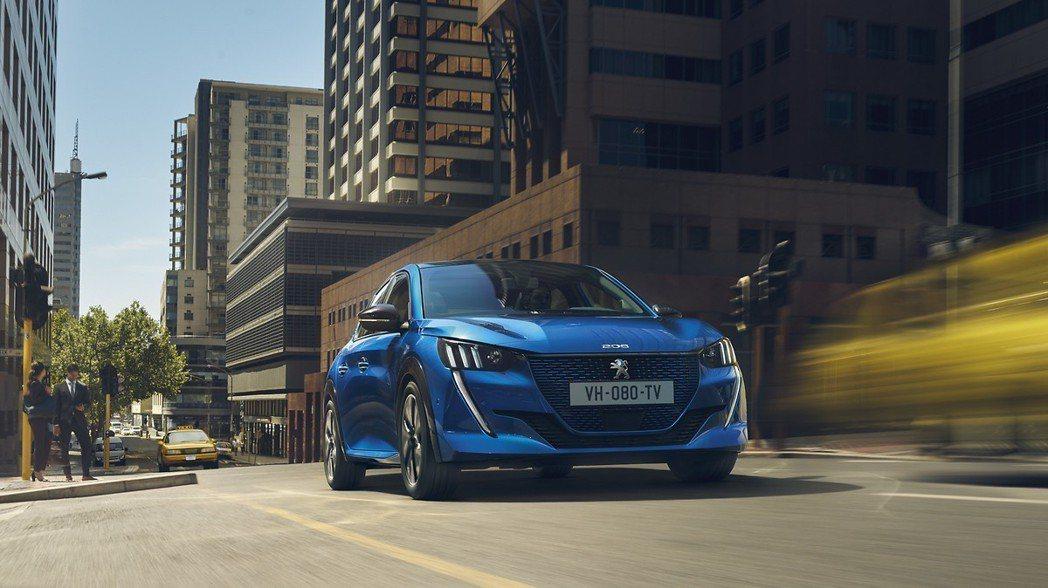 全新Peugeot 208擁有340km的最大續航距離。 摘自Peugeot