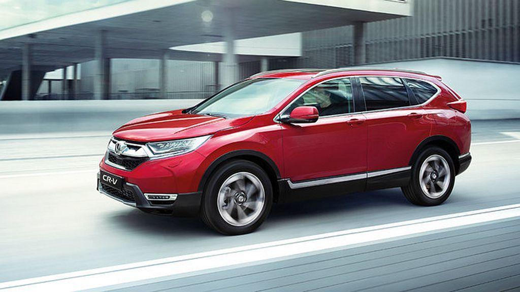 全新第五代Honda CR-V在英國入門車型搭配手排售價為25,995英鎊起,比...