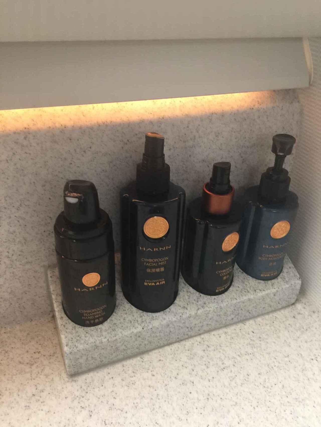 洗手間空間不大,是用HARNN的化妝品。噴霧大推! 圖文來自於:TripPlus