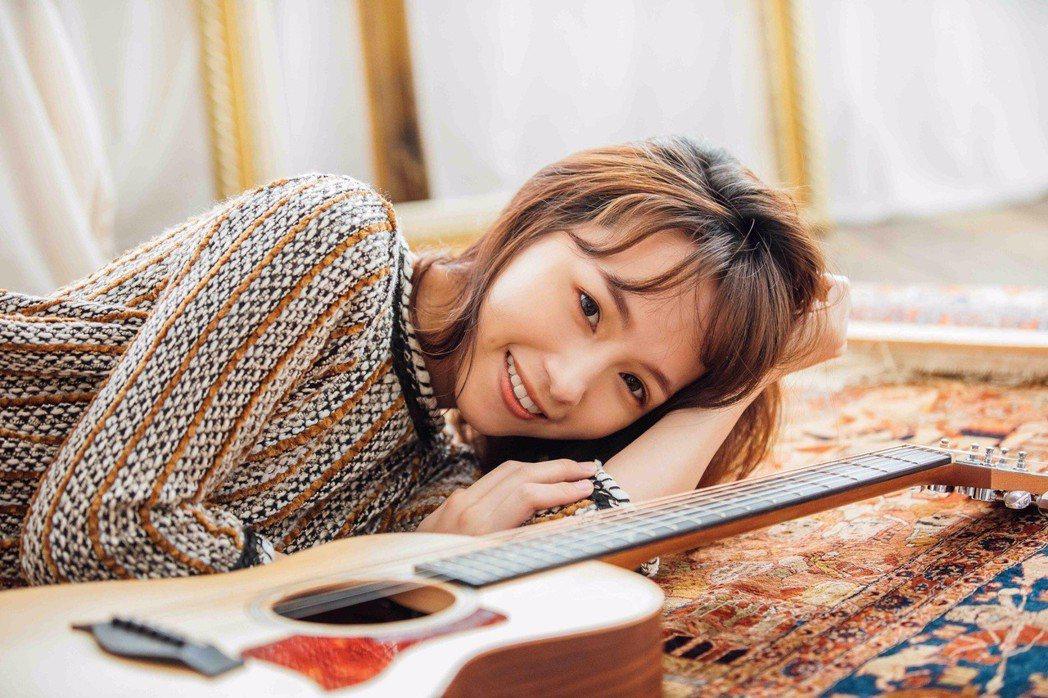 余姿昀推出個人單曲「你愛的我愛你」。圖/浪Live提供