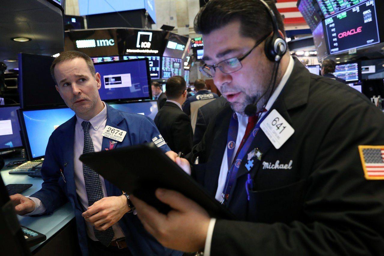 市場對經濟成長放緩的疑慮升高,美股連跌四日。 路透