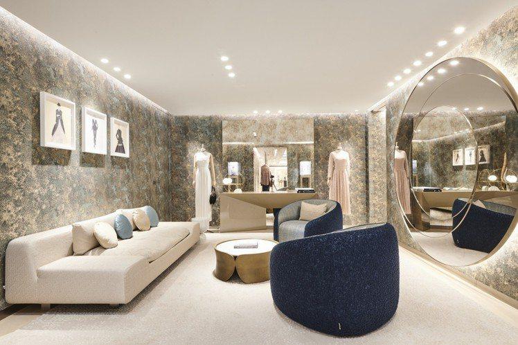 Dior在高雄漢神開設全新專賣店。圖/Dior提供