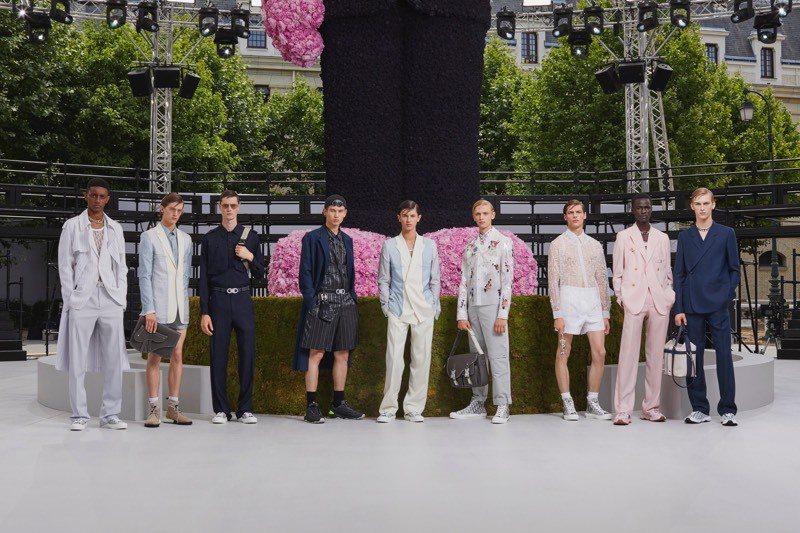Dior Men男裝在高雄漢神也能買到。圖/Dior提供