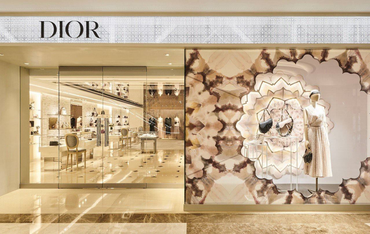Dior看好高雄前景,大手筆開設全新概念店。圖/Dior提供