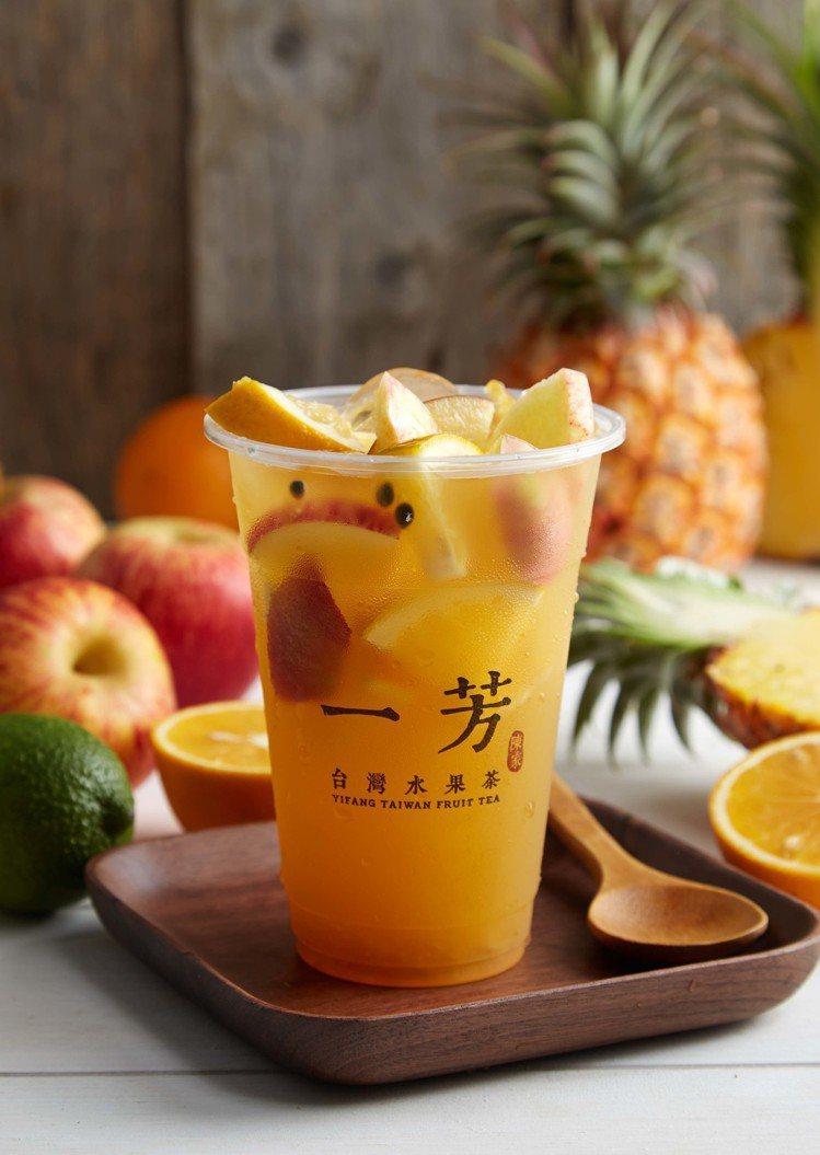 一芳水果茶。圖/一芳水果茶提供