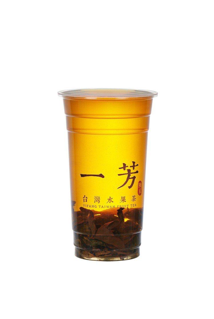 冷泡金鳳茶。圖/一芳水果茶提供