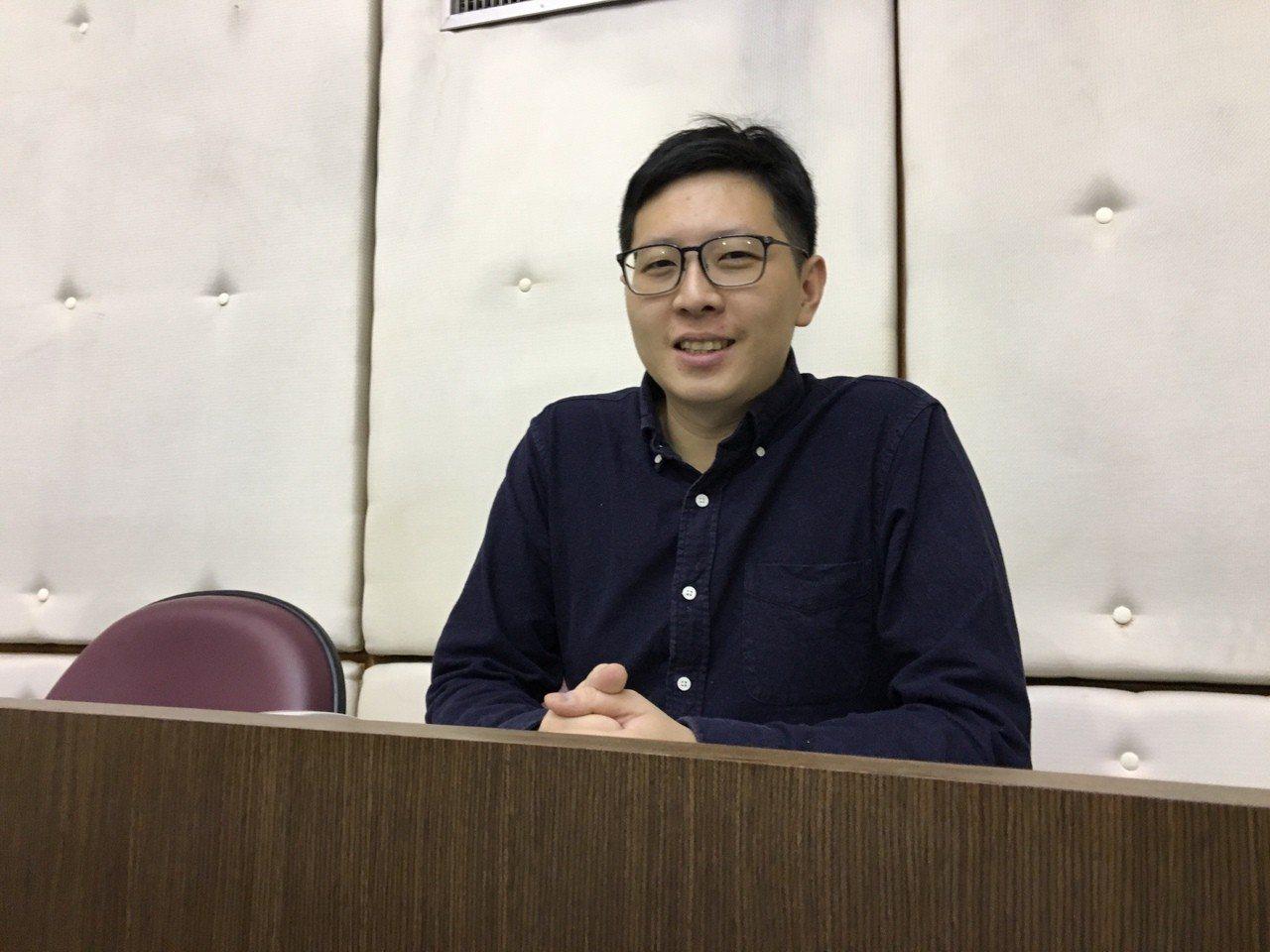 綠黨桃園市議員王浩宇。本報資料照片
