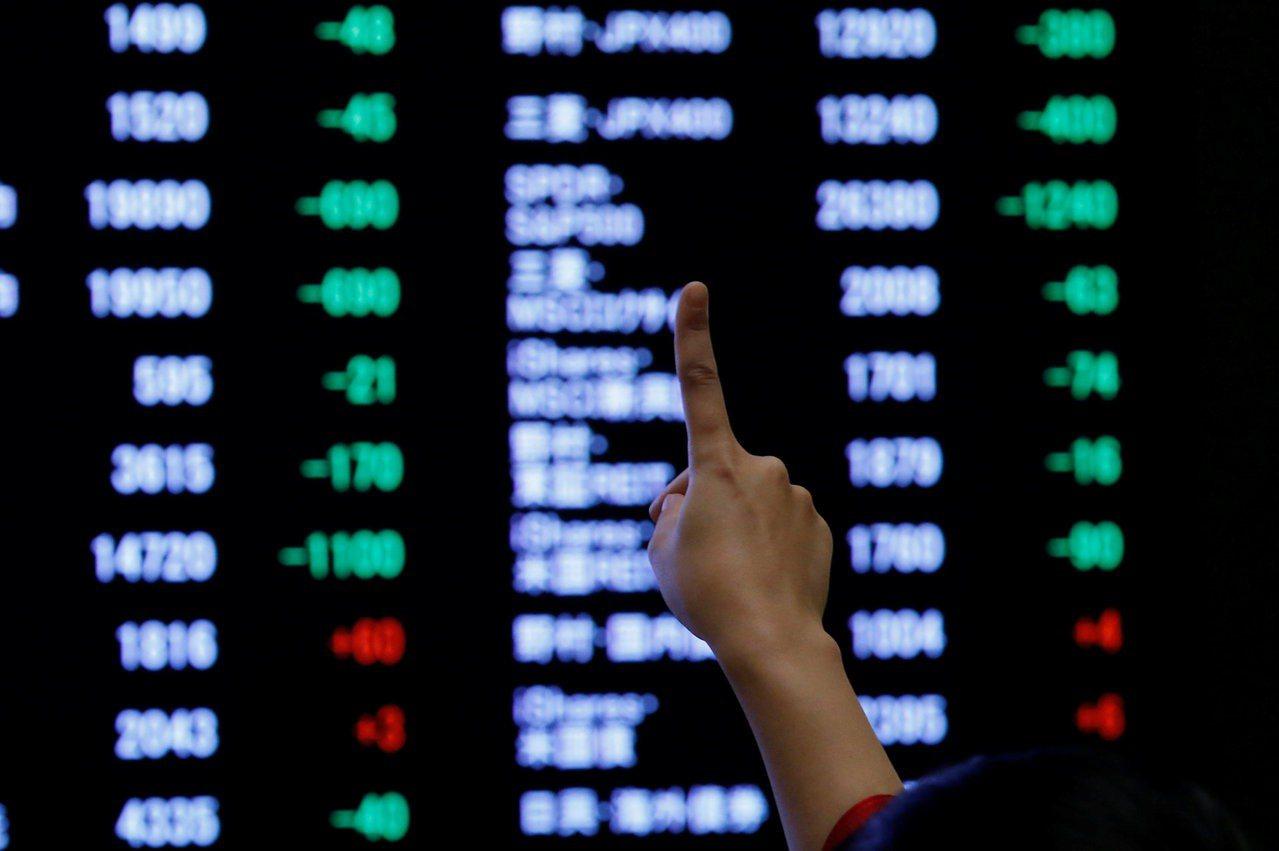 近期在美股出現連日收跌。 路透