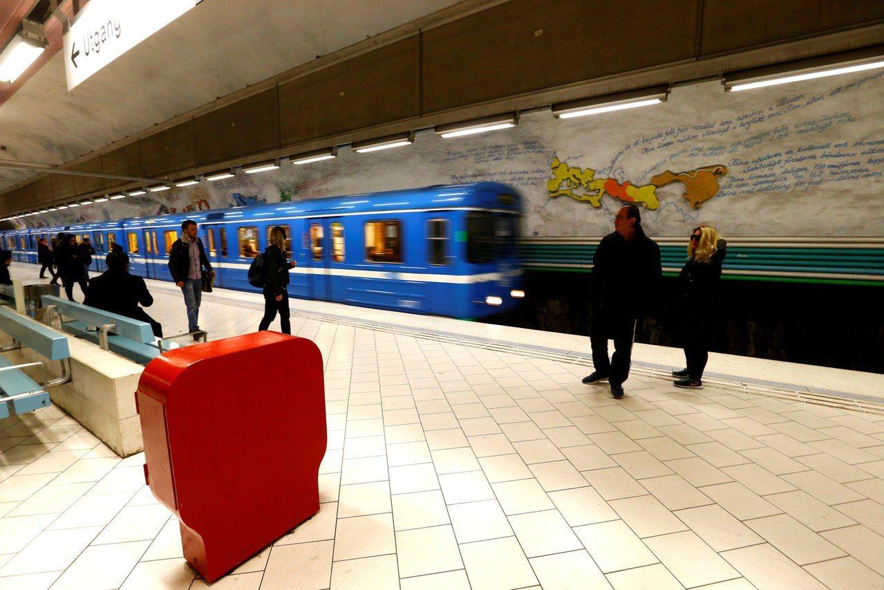 瑞典斯德哥爾摩火車站檔案照。路透