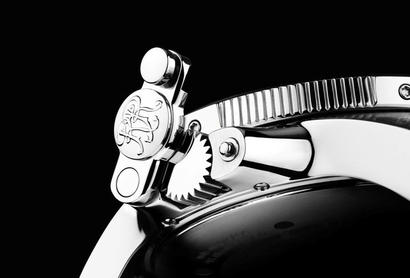 Engineer Hydrocarbon系列腕表均配有加固表冠設計。圖/波爾表提...