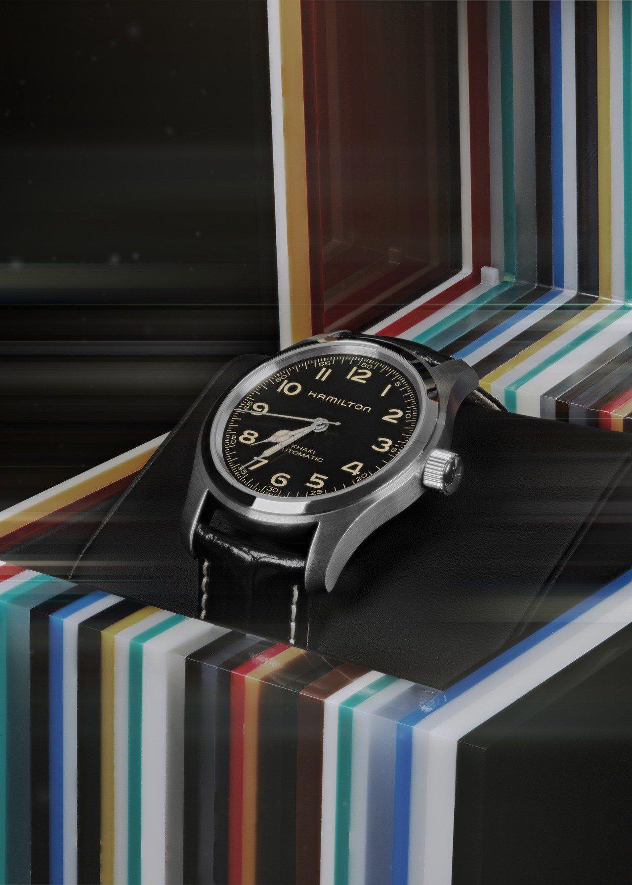 漢米爾頓Khaki Field Murph限量腕表,不鏽鋼表殼,搭載H-10機械...