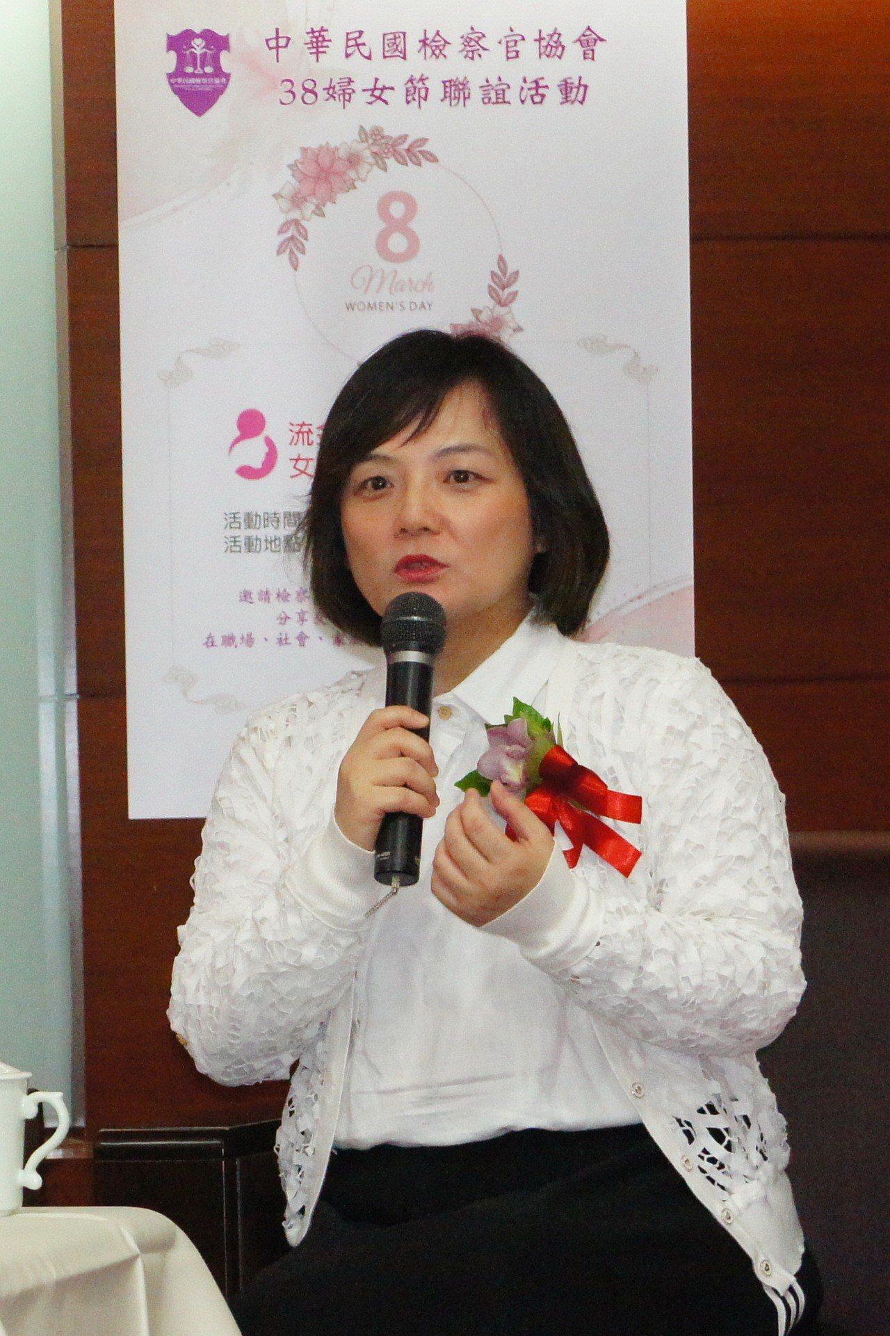 台北地檢署檢察官張安箴。記者王聖藜/攝影