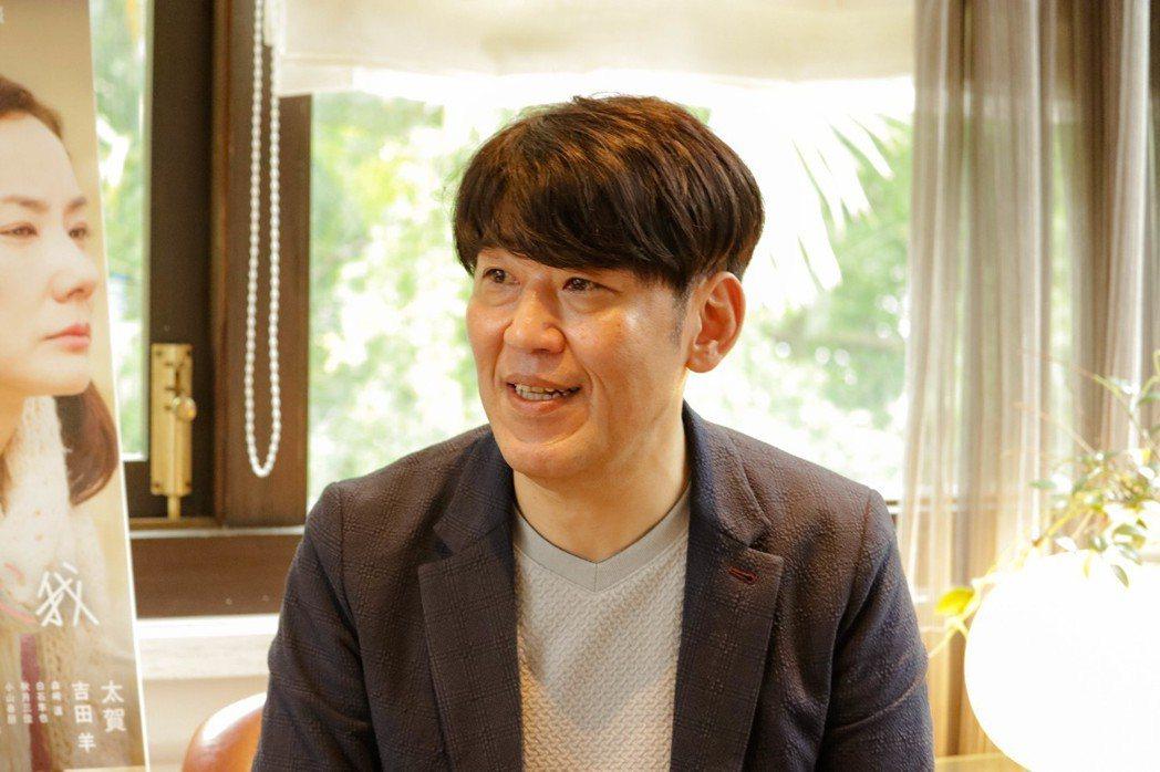 歌川泰司坦言羨慕台灣同志,想移民來台灣。圖/天馬行空提供