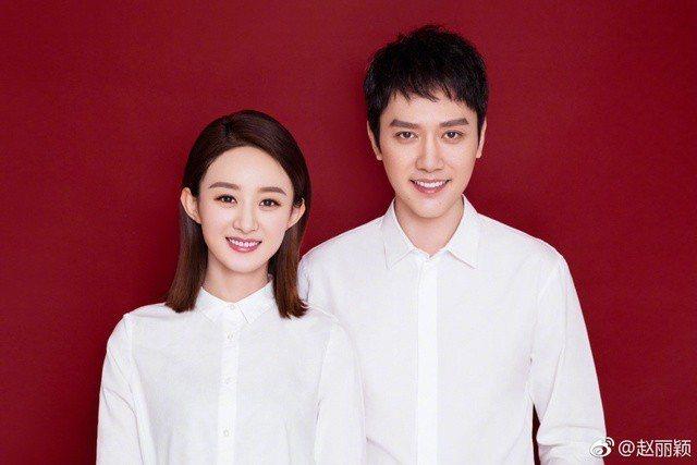馮紹峰、趙麗穎正式迎接兒子。圖/摘自微博
