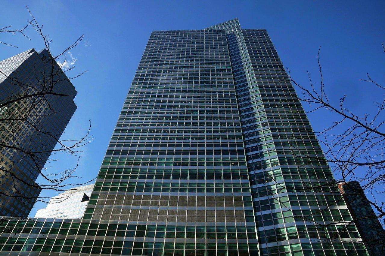 高盛位於紐約曼哈頓的總部。 路透