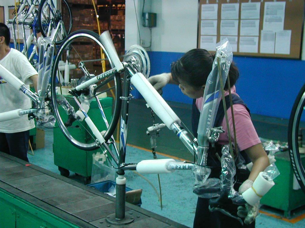 經濟部核准自行車大廠巨大機械回台投資申請案,總金額超過50億元。圖為巨大機械大甲...