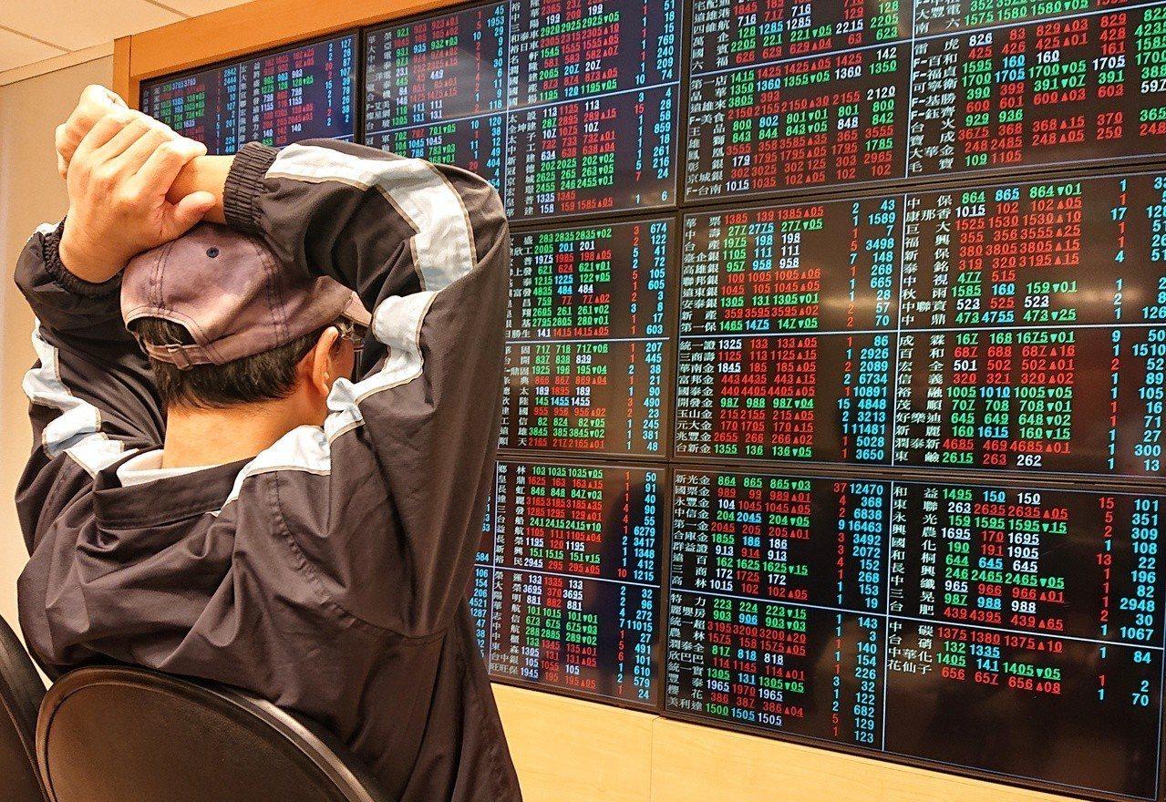 台股。聯合報系資料照