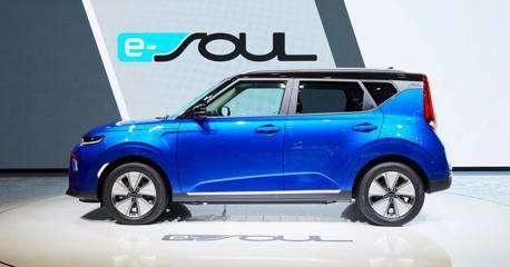 2019日內瓦車展/續航力比Leaf還強 新世代Kia e-Soul方型純電休旅大進化!