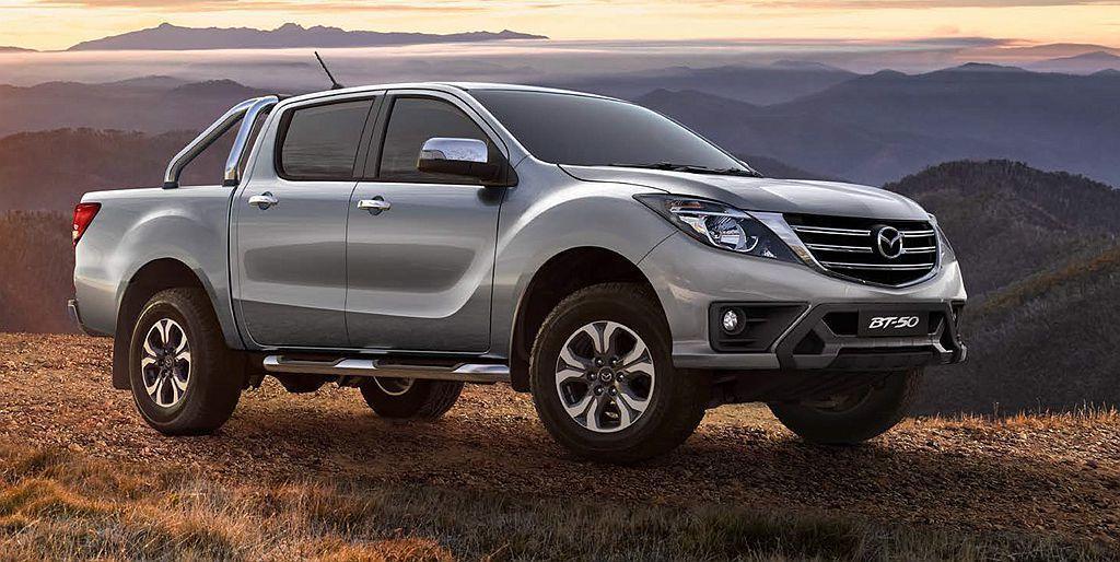還以澳洲市場販售的BT-50中型皮卡為靈感,以雙位數延伸模式維持SUV與多功能車...