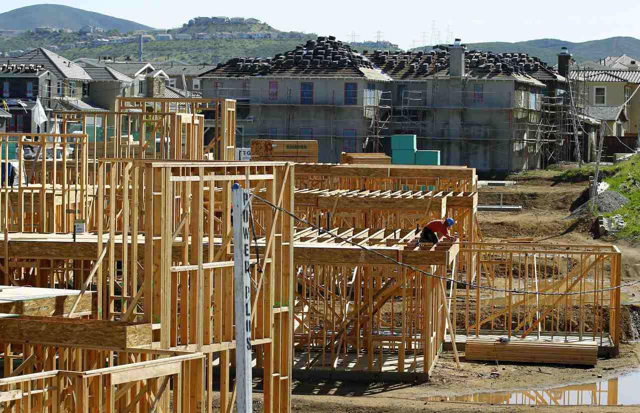 美1月新屋開工優於預期。路透