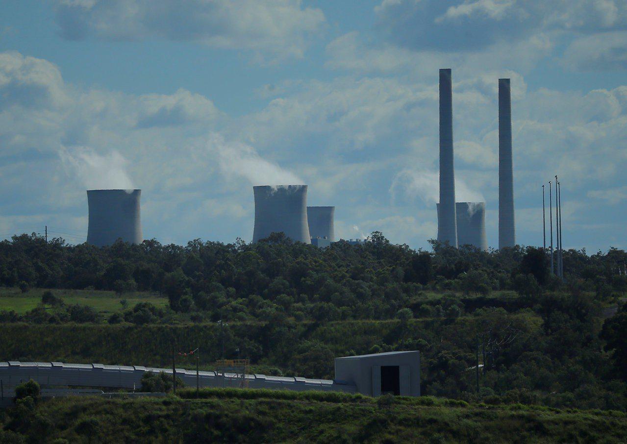 圖中新州獵人谷的利德爾燃煤發電廠老舊,澳洲政府有可能在附近興建新的燃煤發電廠。路...