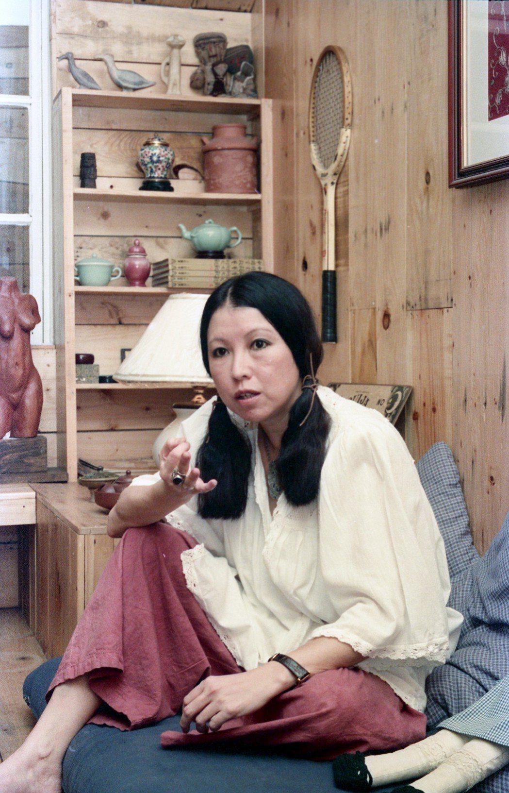 著名女作家三毛是「滾滾紅塵」的編劇。圖/報系資料照片
