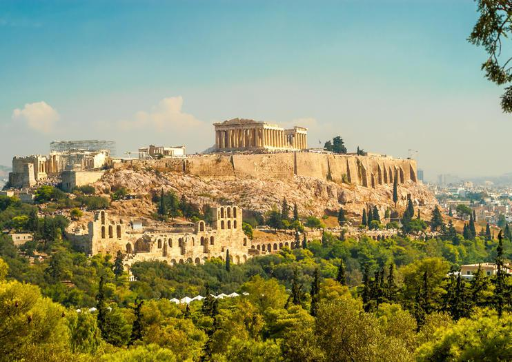 雅典衛城居高臨下,視野開闊。取自觀光網站