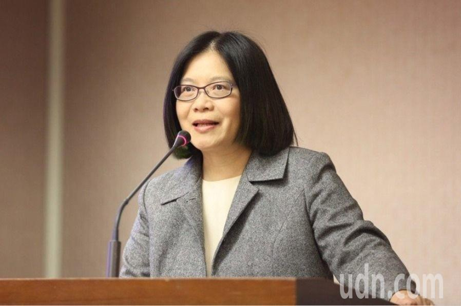 民進黨立院黨團幹事長管碧玲。本報資料照片