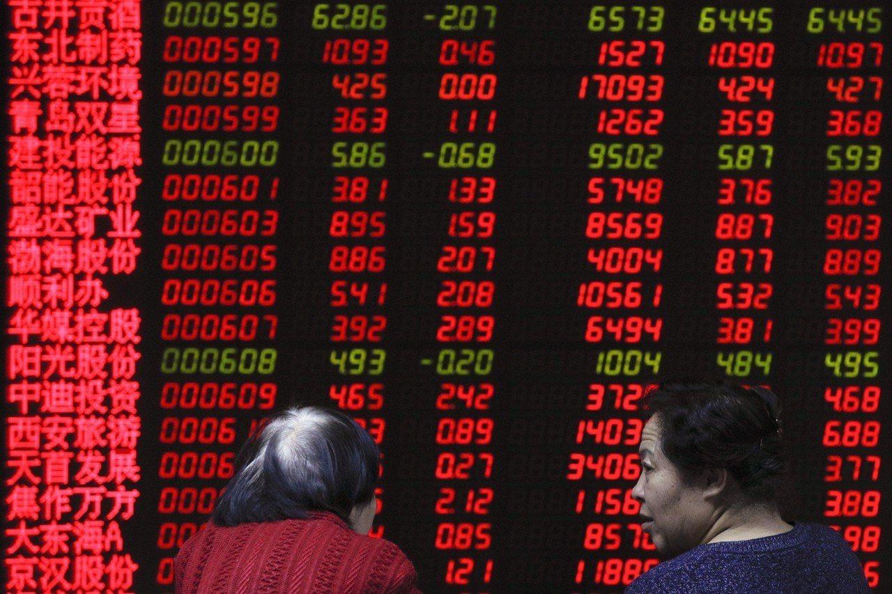 兩家大型證券公司罕見地對陸股發出「賣出」評等,使CSI 300滬深指數8日重挫近...