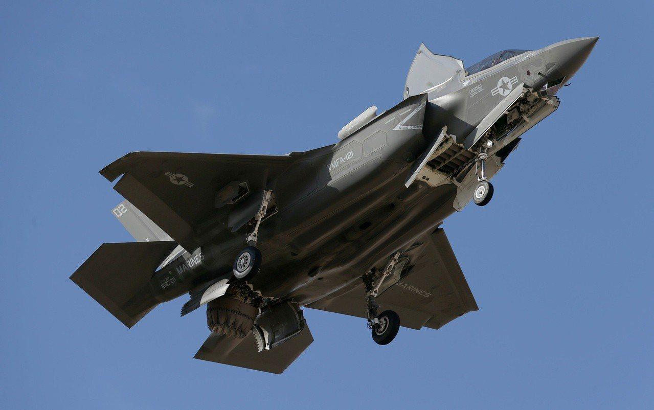 F-35B是美軍最精銳先進的戰機。美聯社