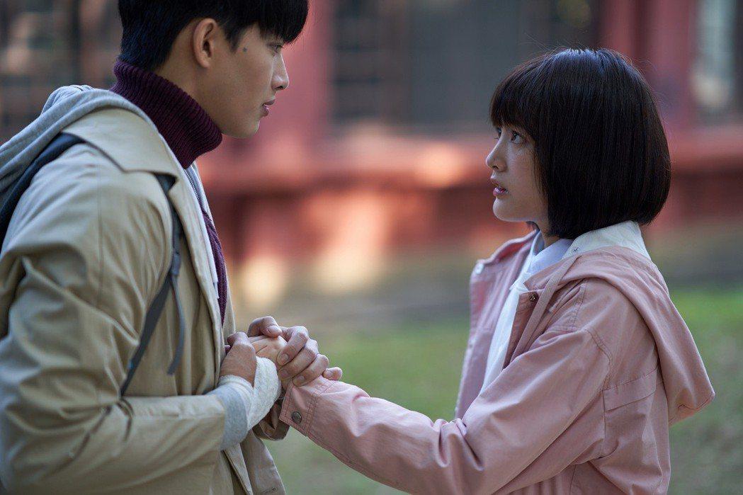 張庭瑚(左)、王淨在戲中感情糾葛多年。圖/東森提供