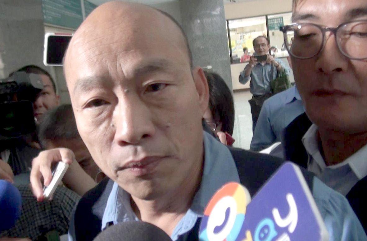 高雄市長韓國瑜預定本月22日到28日訪香港、澳門、深圳、廈門。圖/報系資料照