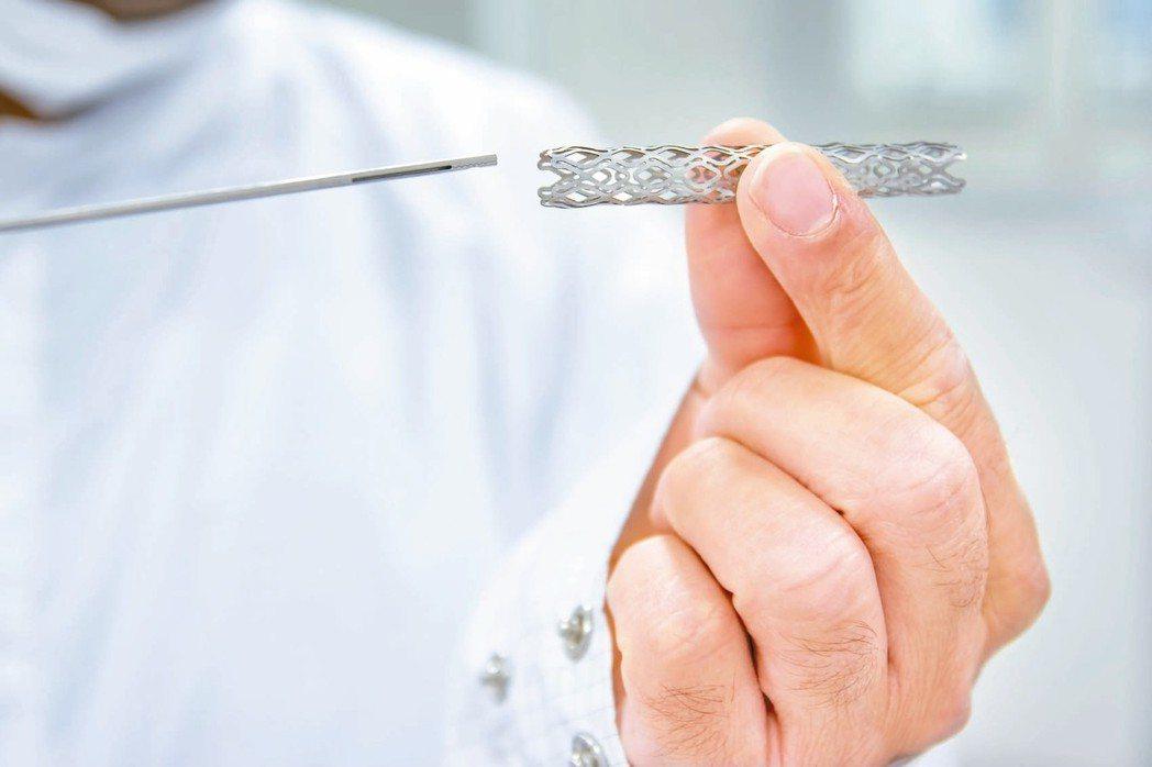 病患適合哪種支架,需多方面評估,圖為心血管支架。
