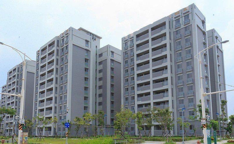 洲美公宅。 圖擷自台北市公共住宅招租網