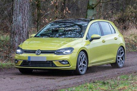 連遮都懶的遮!第8代Volkswagen Golf無偽裝上路測試