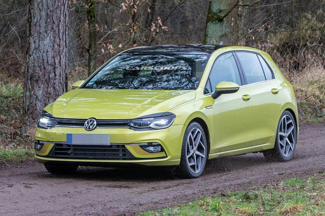 大改款、第八代Volkswagen Golf確定延後至年底才會發表。 摘自car...