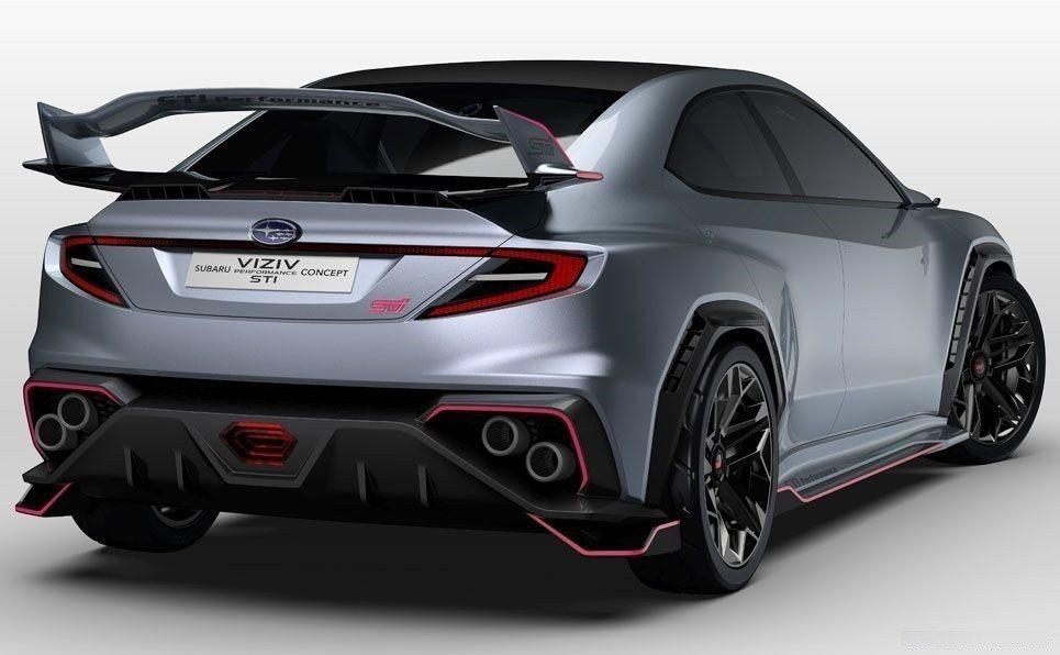 Subaru Viziv Performance STI Concept。 摘自...
