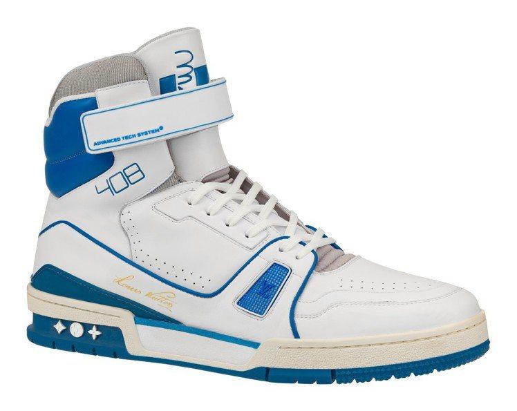 Trainer高筒運動鞋,售價55,500元。圖/LV提供