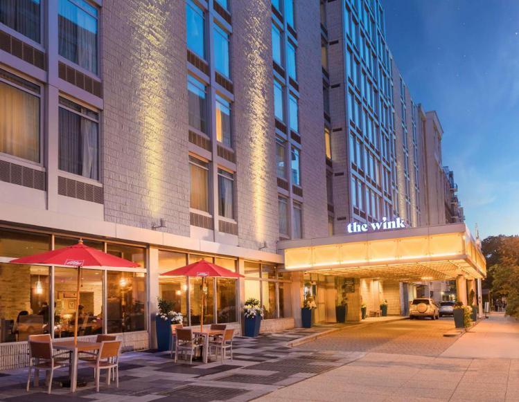 美國華盛頓特區「溫克飯店」。圖/Agoda提供