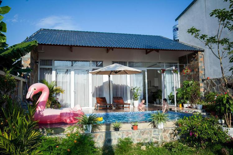 越南奠邊府市「Hoang Anh Villa」。圖/Agoda提供