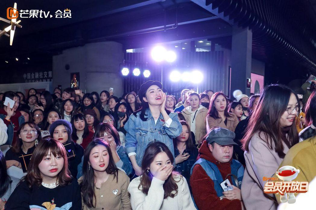 徐開騁上海見面會,粉絲大膽告白。圖/恆星影業提供