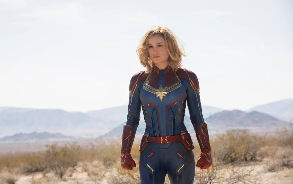 「驚奇隊長」全球票房賣破紀錄,女主角布麗拉森更是順勢成為一線票房明星。圖/博偉提