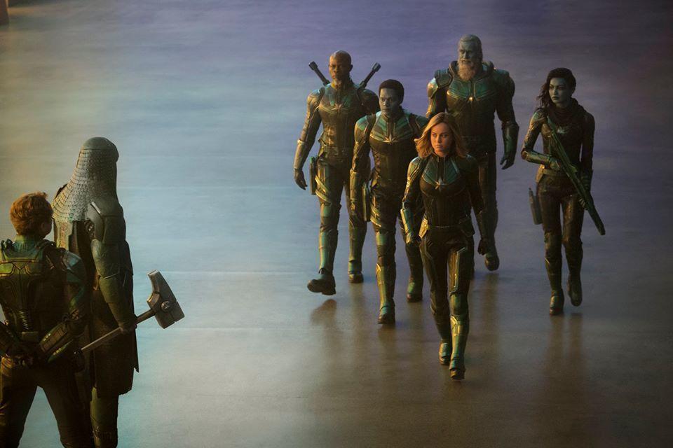 「驚奇隊長」有著驚人特效,全台票房也已經破1.46億。圖/博偉提供
