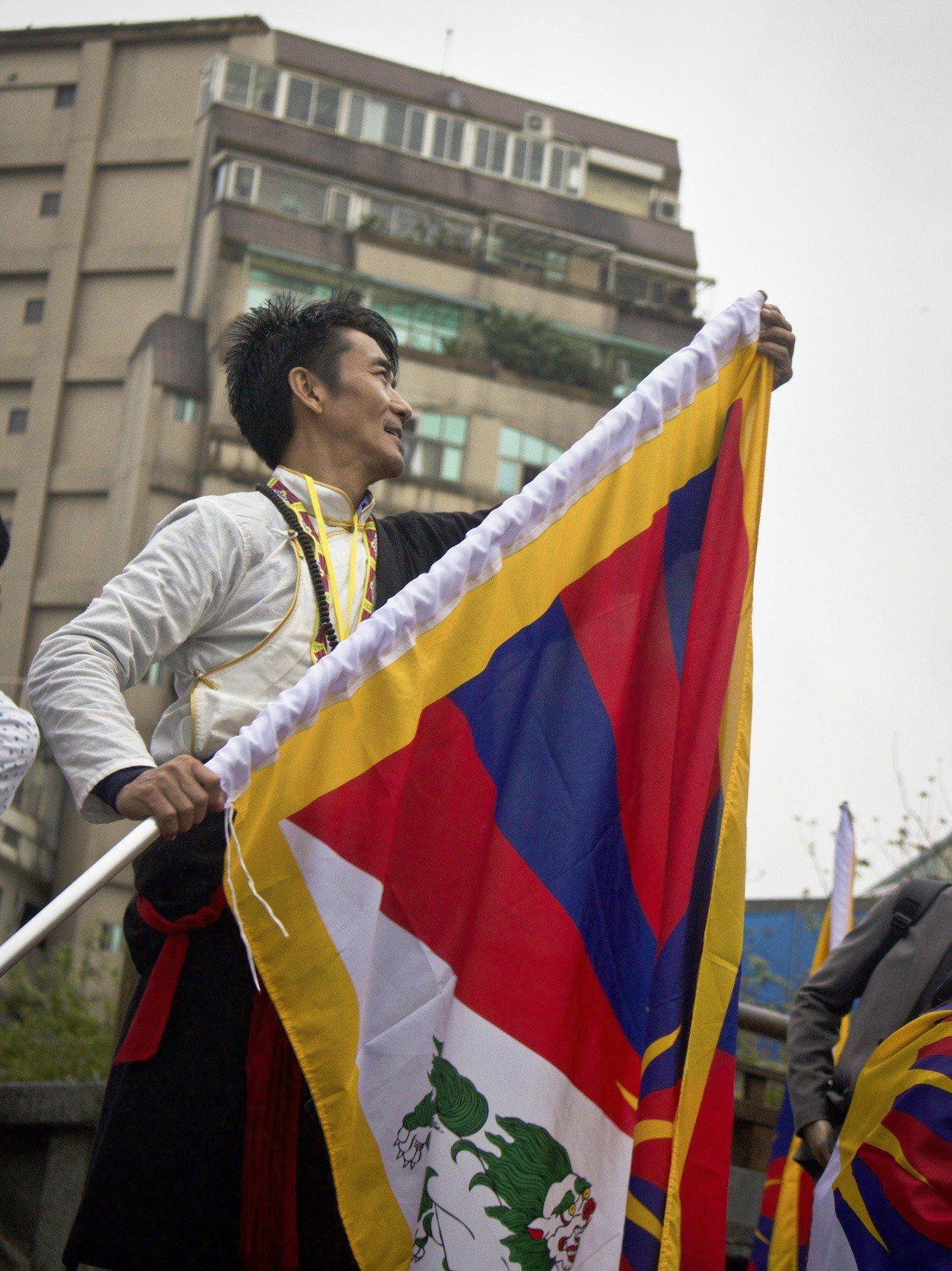 流亡藏人札西慈仁。記者李隆揆/攝影