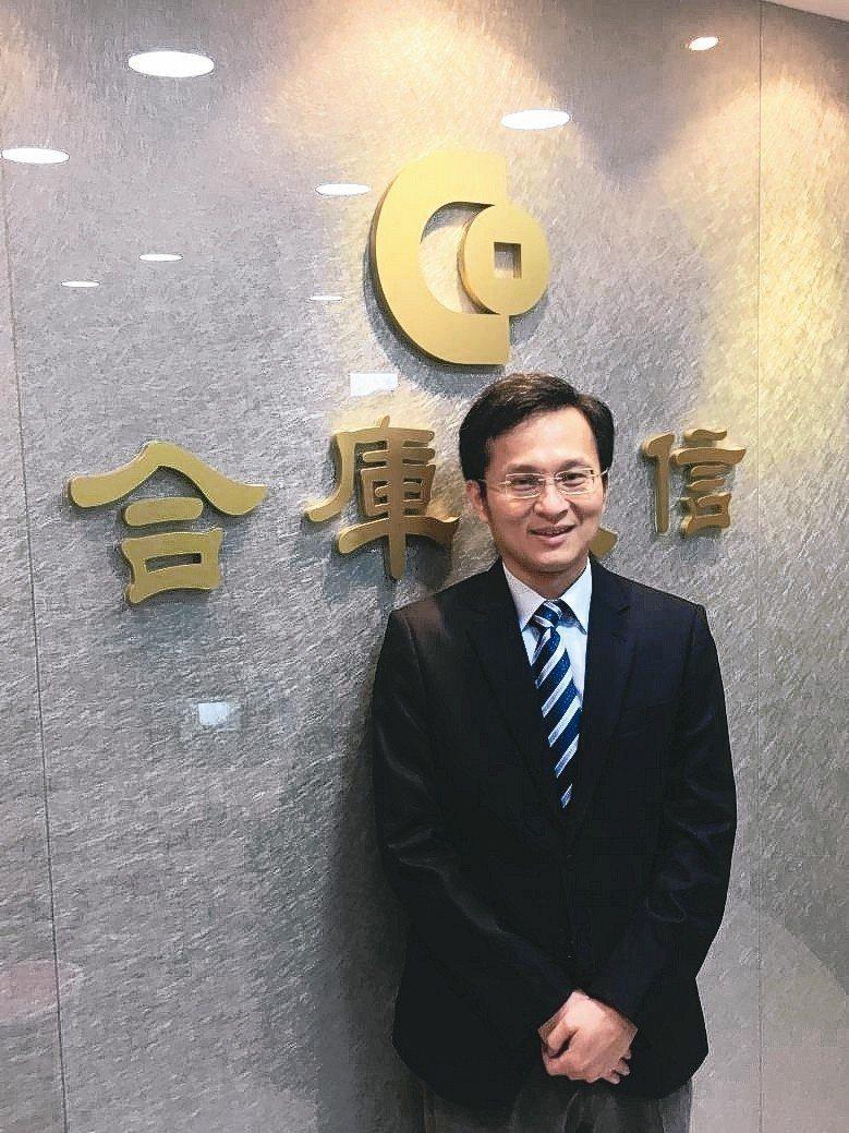 合庫AI電動車及車聯網創新基金擬任經理人陳信嘉。 合庫投信/提供