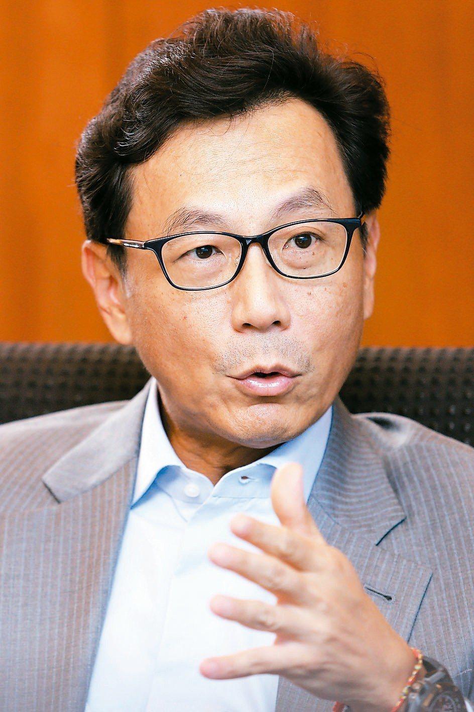 台灣大董事長蔡明忠。 圖/聯合報系資料照片