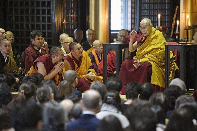 西藏精神領袖達賴喇嘛。 圖/美聯社