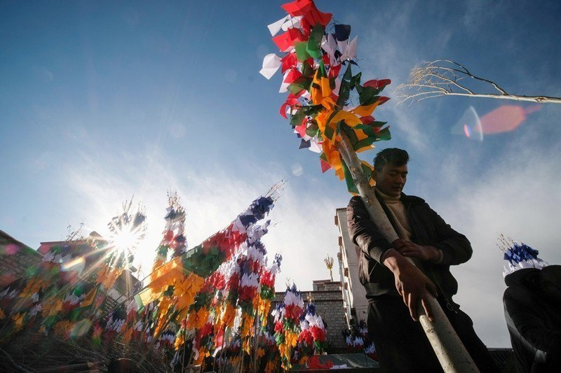 60年來,中國政府踐踏西藏政治及宗教文化。 圖/路透社