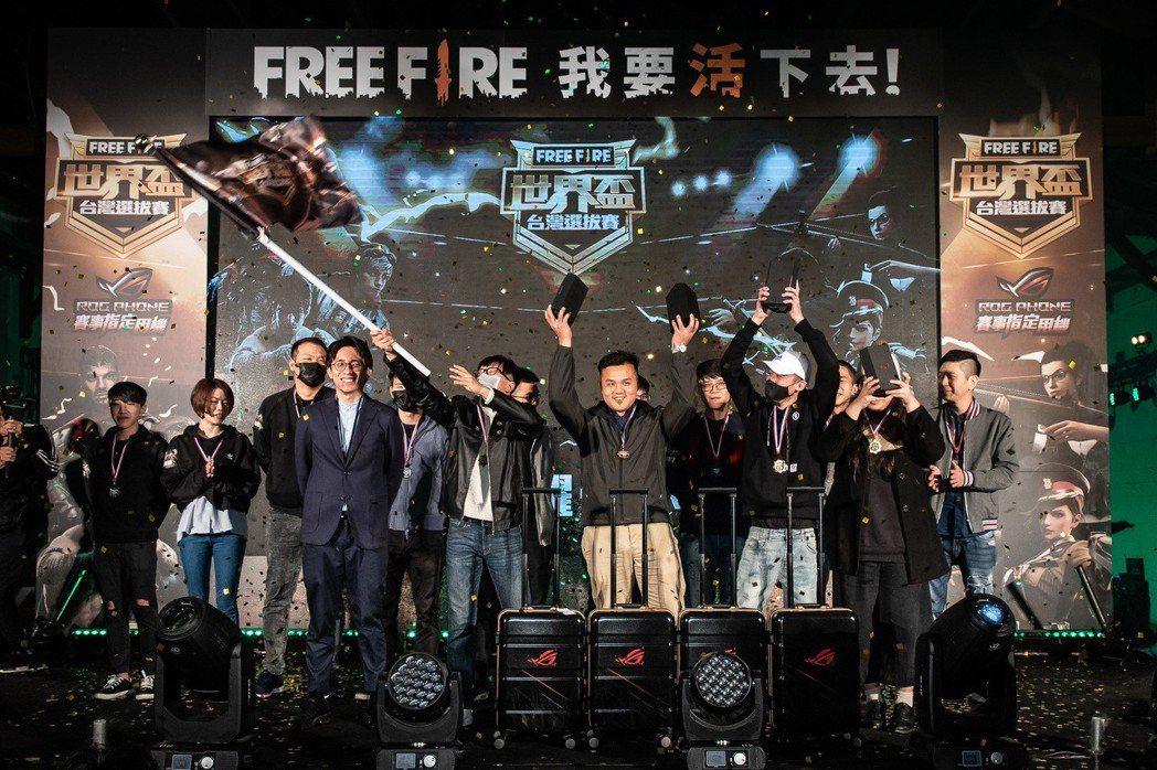混雜軍團獲得團隊積分總冠軍與Free Fire國際賽台灣代表隊的資格